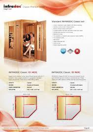 infradoc infrared saunas
