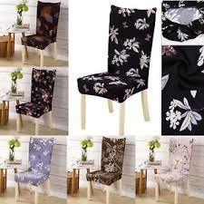 details zu entfernbar stretch hussen stuhlbezug sitzbezug esszimmer stuhl bezüge sofabezüge