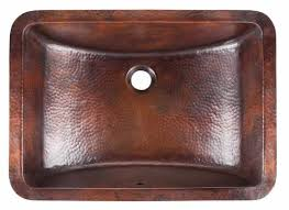 Menards Barrett Pedestal Sink by Sinkology Handcrafted Rectangular Undermount Bath Sink In Aged