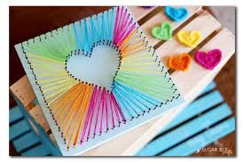 36 Diy Rainbow Crafts That Will Make You Smile All Day Long Inside Art And Craft Gifts For Girls