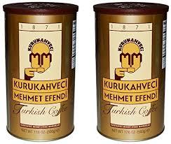 Amazon Kurukahveci Mehmet Efendi Turkish Coffee 176 Ounce Can Pack Of 2 Grocery Gourmet Food