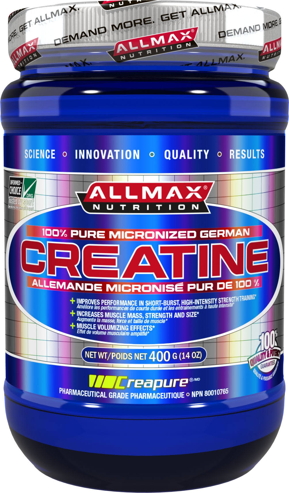 AllMax Nutrition Creatine Supplement - 400g