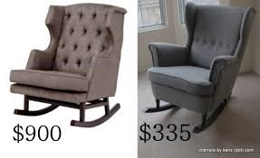 Strandmon Wing Chair Assembly by Ikea Hack Strandmon Rocker Diy Wingback Rocking Chair