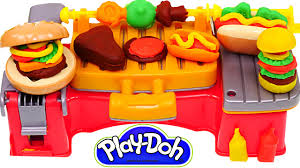 Dora Kitchen Play Set Walmart by Play Doh Cookout Creations New Playdough Grill Makes Play Doh
