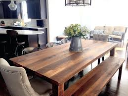 Perfect Wood Plank Dining Table Reclaimed Farmhouse What We Make In Cozy For 5 Sale Tile