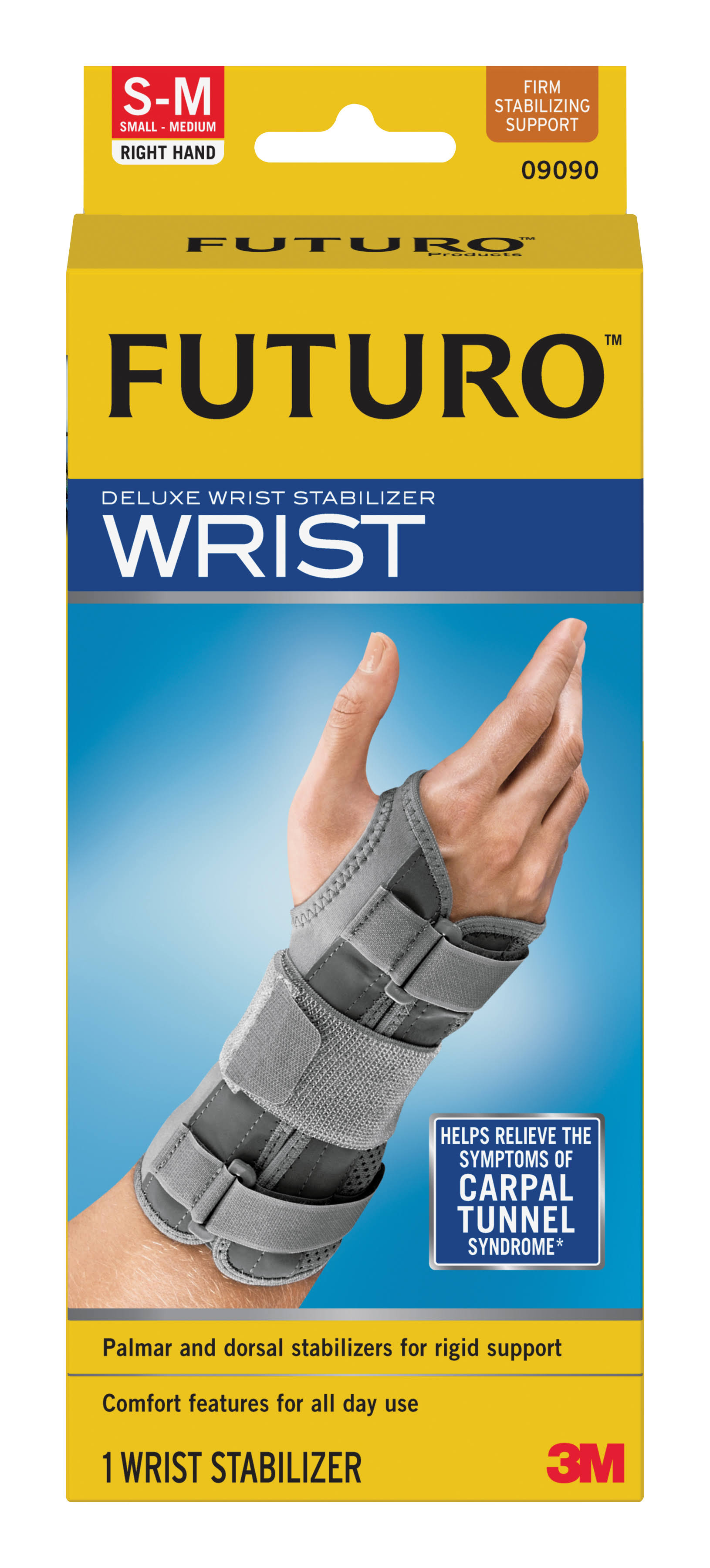 Futuro Deluxe Right Wrist Stabiliser - Large