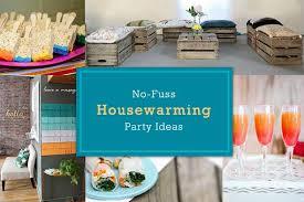 9 Creative No Fuss Housewarming Party Ideas When Youu0027re Not Unpacked