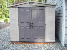 Keter Storage Shed Home Depot by Keter Fortis Shed 7 U0027x10 U0027