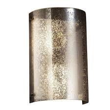 mercury glass wall sconce bellacor