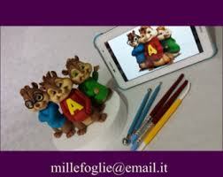 Alvin And The Chipmunks Cake Decorations by Items Similar To Alvin And The Chipmunks Inspired Birthday Cupcake