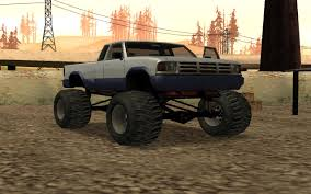 Monster (SA) | GTA Wiki | FANDOM Powered By Wikia Hilarious Gta San Andreas Cheats Jetpack Girl Magnet More Bmw M5 E34 Monster Truck For Gta San Andreas Back View Car Bmwcase Gmc For 1974 Dodge Monaco Fixed Vanilla Vehicles Gtaforums Sa Wiki Fandom Powered By Wikia Amc Pacer Replacement Of Monsterdff In 53 File Walkthrough Mission 67 Interdiction Hd 5 Bravado Gauntlet