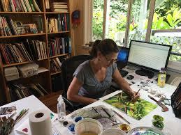 100 Pinterest Art Studio A True Ist Christine Waara Fine Of Maui