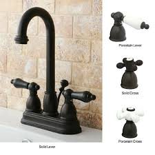 Overstock Bronze Kitchen Faucets by Oil Rubbed Bronze High Arc Bathroom Faucet Free Shipping Today