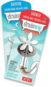Bathroom Drain Hair Stopper Target by Drainwig Catches Hair Prevents Clogs
