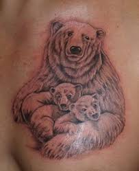 Polar Bear With Cubs Tattoo By Torsk1 On DeviantArt