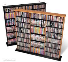 Leslie Dame Media Storage Cabinet Uk by Amazon Com Prepac Black Triple Width Wall Media Storage Rack