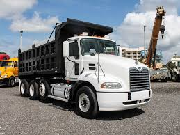 2006 MACK VISION CXN612 TRI-AXLE STEEL DUMP TRUCK FOR SALE #2549