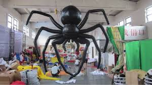Large Blow Up Halloween Decorations by Giant Inflatable Halloween Spider Buy Inflatable Spider