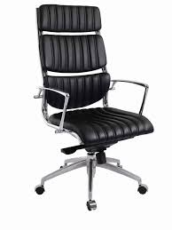 100 Stylish Office Chairs For Home Black Modern Rolling Office Chair With High Backrest And
