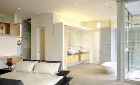chambre salle de bain ouverte déco salle de bain ouverte sur chambre exemples d aménagements
