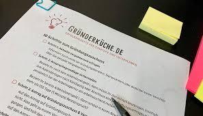 checkliste gründungszuschuss 2021 beantragen pdf