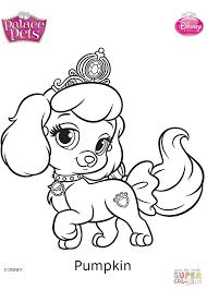 Princess Palace Pets Coloring Pages