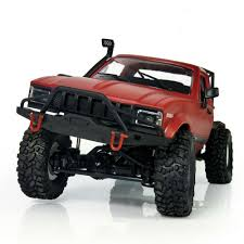 100 Semi Truck Toy US 3687 30 OFF2018 New Arrival 116 WPL C14 Scale 24G 4CH Mini Off Road RC Truck RTR Kids Climb For Children Hiin RC Cars From
