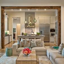 Love The Room Separation This Between Kitchen Breaknook Keeping And Living
