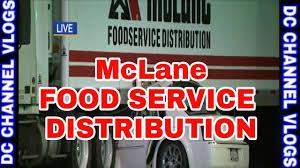100 Mclane Trucking McLane Food Servic Distribution Semi Truck FOOD SERVICE VLOG