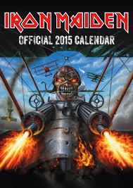 00 Iron Maiden Calendar 2015