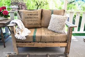 upcycled outdoor furniture you can make with just about anything