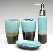 Teal Color Bathroom Decor by Bathroom Accessories S Interior Design