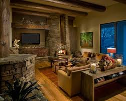 Rustic Rooms Contemporary Unique And Attractive Living Room Ideas