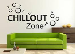 details zu wandtattoo aufkleber chillout zone sprüche zitate bad wohnzimmer sticker bett
