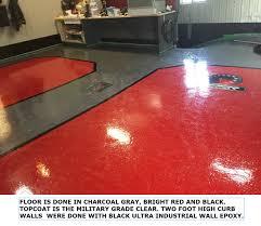 100 Solids Epoxy Garage Floor Paint by Epoxy Flooring For Garage U0026 Commercial Floors