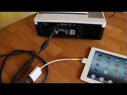 How to connect your iPad to a projector screen or TV