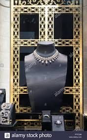Harry Winston Jewelry Store Window Display Fifth Avenue NYC