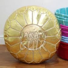 pouf marocain moderne pouf en cuir marocain pouf traditionnel