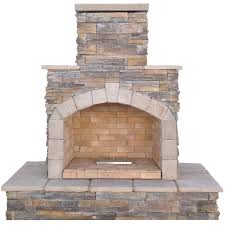Gas Lamp Mantles Home Depot by Cal Flame 78 In Brown Cultured Stone Propane Gas Outdoor