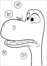 The Good Dinosaur Online Coloring Pages Printable Book For Kids 9