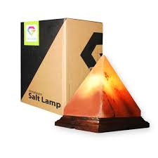 Himalayan Salt Lamp Pyramid by Pyramid Crystal Salt Lamp Salt Gems