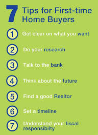 7 Helpful Tips For First Time Home Buyers RealEstate
