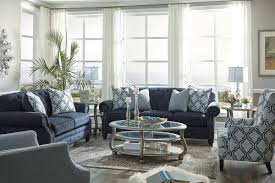 100 2 Sofa Living Room LaVernia Navy Loveseat Accent Chairs