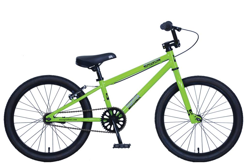 Free Agent Champ BMX Bike Lime 2019