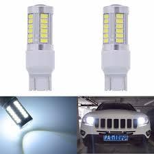 katur 2pcs 7443 7444na led bulb 5630 33 smd white 900 lumens 6000k