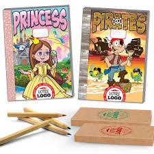 Lot Cahier De Coloriage Et Crayon Personnalis Cadeau Surprise Enfant Colorier Des Images Cool Coloriages Imprimables