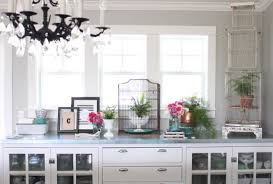 We Had A Custom China Cabinet Buffet Built In Our Dining Room When Kitchen Cabinets Done It Stores All Extra Dishes Mason Jars Vases