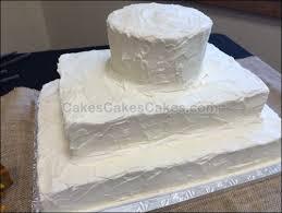 Tiered Sheet Cake Rustic Wedding WB088