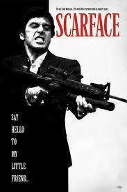 Scarface Bathtub Scene Script by Scarface Poster Ebay