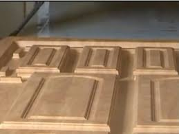Thermofoil Cabinet Doors Bubbling by How Mdf Pvc Vinyl Kitchen Cupboard Doors Are Made Cabinet Doors